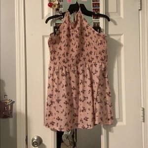 Baby Pink Spring Dress